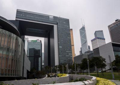 Bürogebäude in Hong Kong