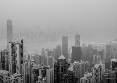Sykline von Hong Kong