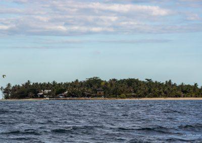 Insel bei Palawan auf den Philippinen