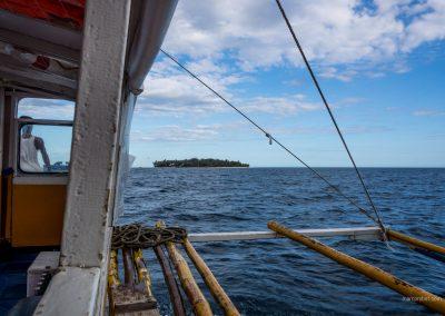 Auf einem Boot bei Palawan auf den Philippinen