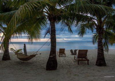 Ruhiger Abend auf Palawan auf den Philippinen
