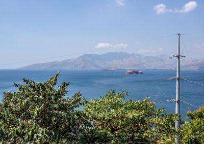 Hafen von Olongapo auf den Philippinen