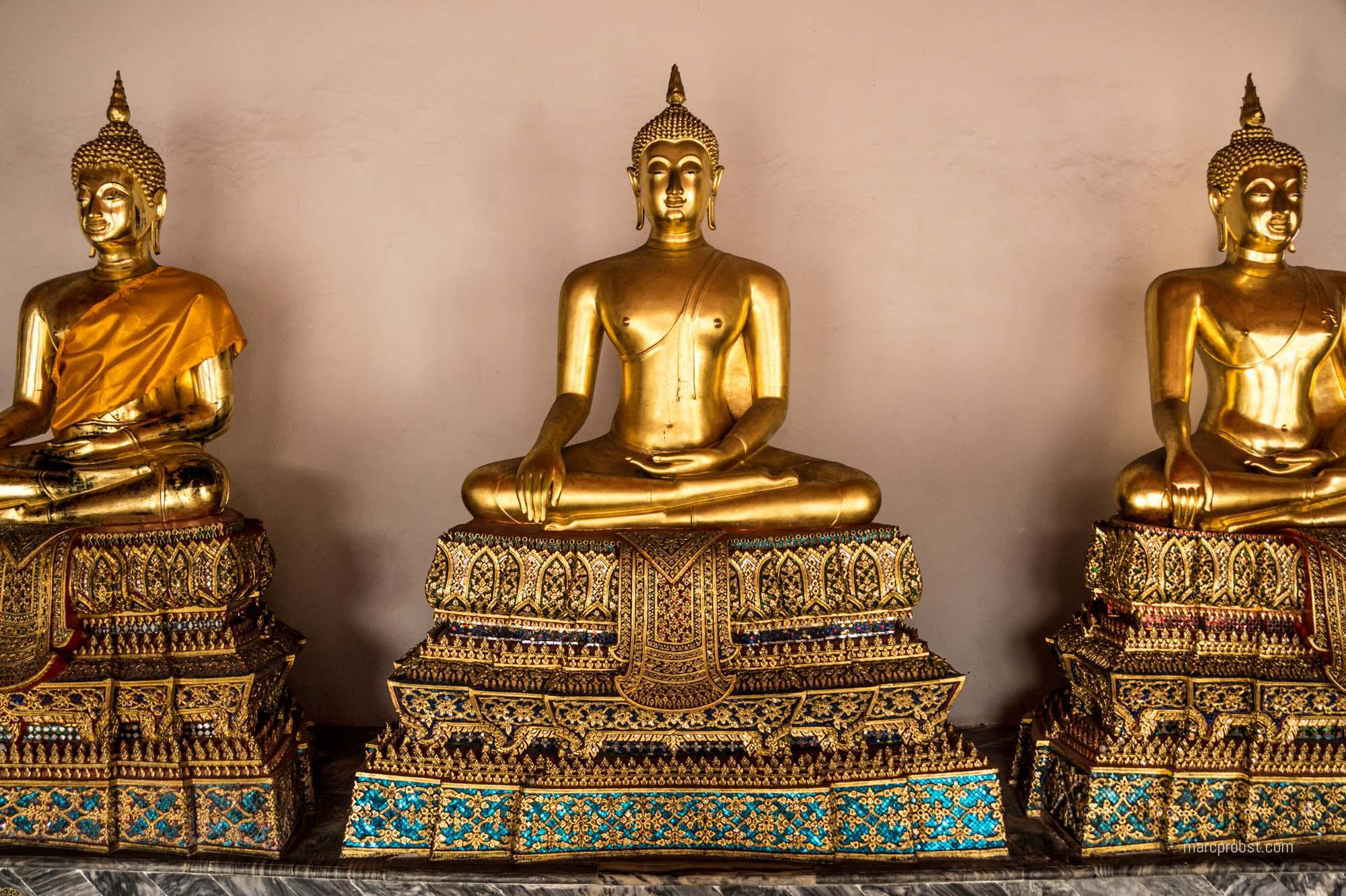 Ein Tempel in Bangkok in Thailand