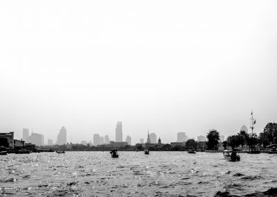 Fluss in Bangkok in Thailand