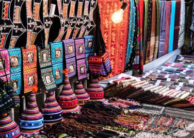 Verkaufstand in Chiang Mai in Thailand